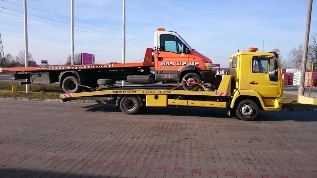 Pomoc Drogowa - Holowanie pojazdów