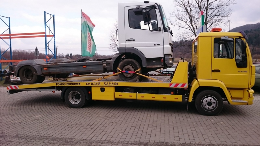 Pomoc Drogowa - Usługa holowania pojazdów powyżej 3,5 tony